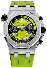 Audemars Piguet Royal Oak Offshore Zielony/Guma Ø42 mm 26703ST.OO.A038CA.01