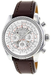 Breitling for Bentley B06 Srebrny/Skóra Ø49 mm AB061112-G768-479X-A20BA.1