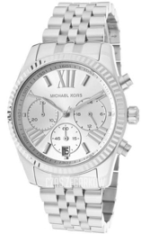 Michael Kors Lexington Srebrny/Stal Ø38 mm MK5555