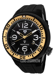 Swiss Legend Neptune Czarny/Guma Ø52 mm SL-21818P-BB-01-GA