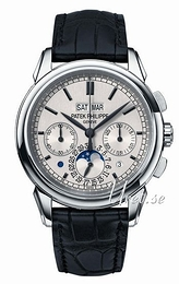 Patek Philippe Grand Complications Srebrny/Skóra Ø41 mm 5270G