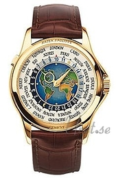 Patek Philippe Complicated Europe-Asia World Time Wielokolorowy/Skóra Ø39.5 mm 5131J/001