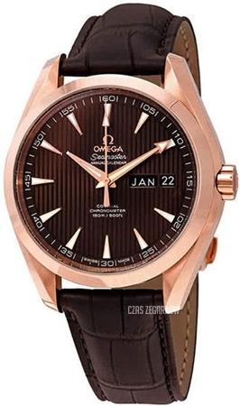 5d2f642727babf 231.53.42.22.06.001 Omega Seamaster Aqua Terra 150m Co-Axial Day-Date  41.5mm   Czas Zegarków