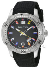 Nautica Analog Czarny/Guma Ø43 mm