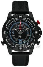 Nautica Chronograph Czarny/Guma Ø47 mm