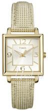 Timex Classic Elevated Srebrny/Skóra
