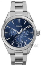 Timex Niebieski/Stal Ø40 mm